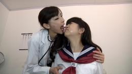 フェチ:レズ:女医の女子校生食い後編