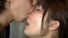 フェチ:レズ:鼻舐め接吻