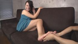 フェチ:レズ:足裏くすぐり 女が