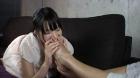 フェチ:レズ:ラン子の足指を舐めさせる ~ありさちゃん~