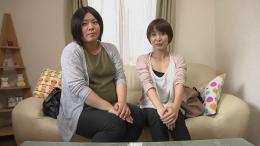 フェチ:レズ:妊婦と母乳のレズ〜インタビュー編