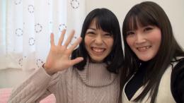 フェチ:レズ:自撮り自己紹介百合動画 小春 桜庭うれあ