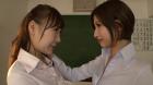フェチ:レズ:鼻・顔面舐めレズ 女教師のレズ恋愛編 日高結愛 小峰みこ