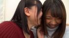 フェチ:レズ:自撮り自己紹介百合動画 江上しほ 水谷杏