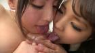 フェチ:レズ:乳首vsクリトリスどっちが敏感?レズ 江上しほ 水谷杏