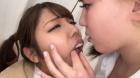 フェチ:レズ:生意気ギャル生徒を唾液まみれに犯すレズ女教師 江上しほ 水谷杏