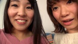 フェチ:レズ:素人娘みき&あさみの自撮り自己紹介百合動画