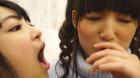 フェチ:レズ:【無料サービス動画】口臭街道を西へ あやね遥菜 成海夏季