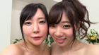 フェチ:レズ:爆乳美女最高のおっぱいぬるぬるレズ 羽生ありさ 斉藤みゆ