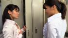 フェチ:レズ:どっちが美乳首!?OL乳首舐めレズ 春日野結衣 東杏果