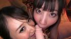 フェチ:レズ:「彼女とその親友と飲んでたらいつのまにか俺のチンポの取り合いが始まって最終的に3Pになった話」 葵千恵 愛野ももな