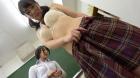 フェチ:レズ:アナル舐め回しレズ~生徒指導身体チェック編 阿部乃みく 斉藤みゆ