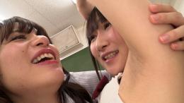 フェチ:レズ:女子校生が好き過ぎる美人女教師の超匂い嗅ぎまくり舐めまくりレズ 八ッ橋さい子 夢乃美咲