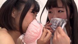 フェチ:レズ:女体臭嗅ぎ愛レズビアン~宅飲みからの匂い嗅ぎ合いレズえっち 優保なのか 熊野あゆ