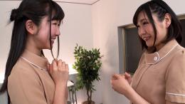 フェチ:レズ:唾液パック施術が有名な唾液顔面舐めレズエステ 優保なのか 熊野あゆ