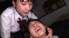 フェチ:レズ:禁断百合レズ痰唾顔面舐め学校 宮崎あや 七海ゆあ
