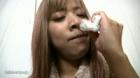フェチ:レズ:鼻観察くしゃみ鼻水