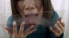 フェチ:レズ:葉月美音の鼻穴 鼻水観察