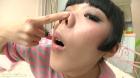 フェチ:レズ:青井いちごの豚鼻