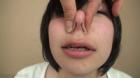 フェチ:レズ:羞恥プレイりんちゃんの鼻いじめ