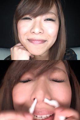 フェチ:レズ:鼻観察・くしゃみ鼻水 小田エリナ