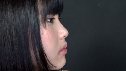 フェチ:レズ:鼻観察 こよりで涙目鼻水 篠岬ことみ