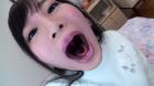 フェチ:レズ:愛野ももなちゃんの舌・口内自撮り