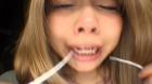 フェチ:レズ:鼻観察・くしゃみ鼻水 双葉かえで