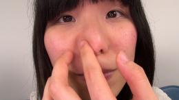 フェチ:レズ:素人娘かりんちゃんの鼻観察・くしゃみ鼻水