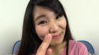 フェチ:レズ:素人娘あさみちゃんのセルフ指フェラ