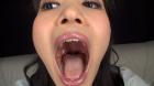 フェチ:レズ:春日野結衣ちゃんの舌・口内自撮り