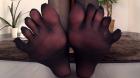 フェチ:レズ:5本指パンストを穿いた女 一宮つばさ