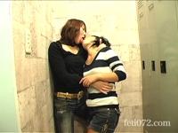 【仲良し二人組に一番エロいキス見せてくださいPart1】 仲良しレズカップルに今まで一番エッチなキスを見せて下さいと頼みました。 女の子同士のとっておきなエッチキスをお楽しみください!!!