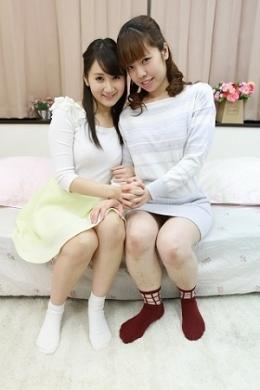 フェチ:レズ:「葵千恵」と「永原まい」の設定なしドキュメントレズセックス