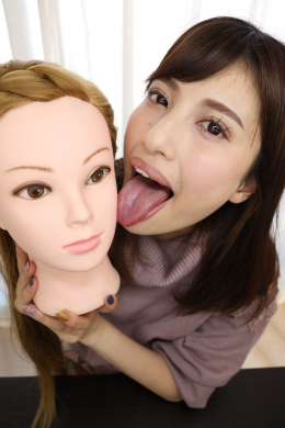 フェチ:レズ:マネキン女バーチャルレズ顔面舐め唾吐き掛け淫語⑩ 早川瑞希