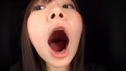 フェチ:レズ:西野たえちゃんの舌・口内自撮り