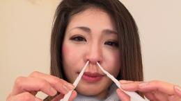 フェチ:レズ:鼻観察・くしゃみ鼻水 たかの愛
