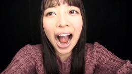 フェチ:レズ:宮沢ちはるちゃんの舌・口内自撮り