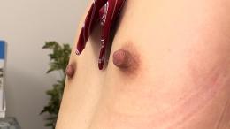 フェチ:レズ:主観淫語バーチャル乳首オナニー 星咲セイラ