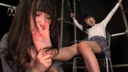 フェチ:レズ:女体臭全身責め主従関係レズ 水嶋アリス 夢乃美咲