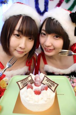 フェチ:レズ:【クリスマスイヴ特別企画】ケーキ生クリームメッシー舐め愛ハッピーメリークリスマス2020 鈴屋いちご 黒崎さく