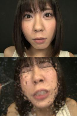 フェチ:レズ:ドSまりかの鼻観察 くしゃみぶっかけ鼻水責め