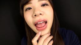 フェチ:レズ:星乃レイアちゃんの舌・口内自撮り