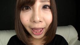 フェチ:レズ:瀬乃ひなたちゃんの舌・口内自撮り